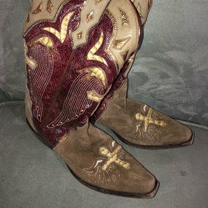 Women's size 8 dress cowboy boots